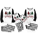 Sanahy Pyjamas Weihnachten Familie, Weihnachten Familie Sets Baby Brief Klassische Plaid Kleidung...