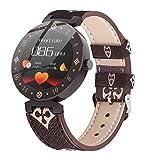 ZXCVBW Smartwatch für Damen, süßes Sportarmband, Herzfrequenz & Schlaf, Beste Frauen,...