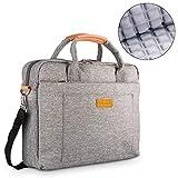 DOB SECHS 13-14 Zoll Laptoptasche Aktentaschen Handtasche Tragetasche Schulter Tasche Notebooktasche...