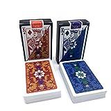 ASDZ lustige Spielkarten 2sets / Lot Muster wasserdichtes Spielkartenspiel Texas Hold'em...