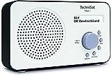 TechniSat VIOLA 2 tragbares DAB Radio (DAB+, UKW, Lautsprecher, Kopfhöreranschluss, zweizeiligem...