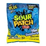 AMERICANFOOD4U Box mit Sour Patch Kids Blue Raspberry, Fruchtgummi sauer 141g, amerikanische...