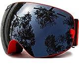 Embryant Skibrille, Winter Schneesportbrille mit Anti-Nebel UV-Schutz für Männer Frauen Jugend...