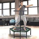 ISE Fitness Trampolin,Trampolin fr Jumping Fitness  122 cm hhenverstellbarer...