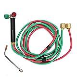 Mini-Gasbrenner, Sauerstoff-Gasbrenner-Schweißlötpistole für die Schmuckreparatur Verarbeitung...