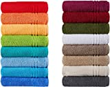 Naturawalk Handtücher Serie Milano Bio-Baumwolle in Luxusqualität, in 7 Größen und 16...