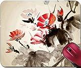 Mousepad Chinesische Malerei des traditionellen Ruhmes der Winde auf Kunstdruckpapier