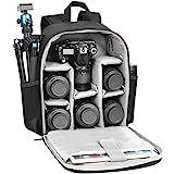 CADeN Kamerarucksack Camera Backpack Wasserdicht Kameratasche Fotorucksack Kompatibel mit Sony Canon...