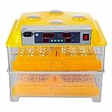 Ambesten Brutapparat für Hühner 112 Eier Inkubator Geflügel Thermometer Brutmaschine...