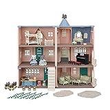 Sylvanian Families Deluxe Mehrfamilienhaus Geburtstagsset 5504 Puppenhaus