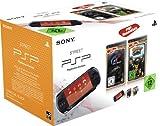 PlayStation Portable - Konsole E1004, schwarz mit Gran Turismo [Essentials] + Ratchet & Clank: Size...