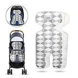 Sitzeinlage, Eyscoco Baby Sitzauflage Universal Atmungsaktive Sommer Sitzauflage für Kinderwagen,...