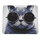 JamesRalston Mauspad Katze Muster Anti-Rutsch-Laptop PC Mäuse Pad Matte Mousepad für optische...