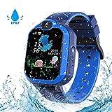 Kinder SmartWatch Phone Smartwatches mit Wasserdicht IP67 SOS Voice Chat Kamera Wecker Digitale...