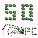 Kunststoffbinder, verstellbare Spiralbindungen, Gartenpflanzen-Clips, Blumen-Clip, für Garten und...