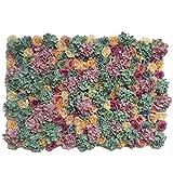 Kunstblumen-Hintergrund, Kunstblume, für Hochzeiten, Tor, Treppen, Dekoration, 40 x 60 cm (Farbe:...