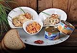 WURSTBARON® - Aufstrich Paket - Obatza, Griebenschmalz, Gourmetaufstrich, Leberwurst - Für die...