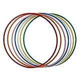 hoopomania® Hula Hoop Rohling, PE-20mm, SCHWARZ, Durchmesser 100cm