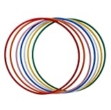 hoopomania Hula Hoop Rohling, PE-20mm, SCHWARZ, Durchmesser 100cm