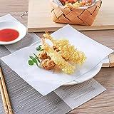 50 Stück Backpapier Wasserdicht Lebensmittel Öl Papier Antihaft Backpapier geeignet für Grill,...