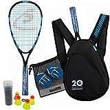 Speedminton Jubiläumsset (S800) Limitiertes Speed Badminton/Crossminton Allround Set inkl. 4...