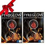 FYREGLOW Glow Flame Kamin Zubehör für Bioethanol Wandkamine und Standkamine, 1g, Nutzbar bis 300...