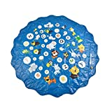 Blue-Yan PVC-haltbares Wasserspritzpad fr Kinder im Freien, lustiges Sprinkler-Spielpad,...