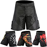 Verus MMA Grappling Shorts Kick Boxing Cage Fight Muay Thai Training Kampfsport (Medium,...