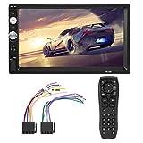 Duokon Auto MP5 Player, 7 Zoll HD Bluetooth Doppel Din Auto Stereo MP5 Player FM Radio USB AUX...