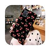 Cherry Peach Strawberry Fruit Handyhülle für Samsung Galaxy A21S A01 A11 A31 A81 A10 A20E A30 A40...