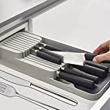 REW Multifunktions-Kchenschubladenschneider Aufbewahrungstablett 9 Messer Messerblock Kochmesser...
