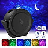 Sternenhimmel Projektor LED【WIFI Smart】Galaxy Projektor Lampe mit Timer/APP/Voice Kontrolle Bunt...