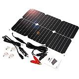 ALLPOWER Solar Panel Battery Maintainer 18V 12V 18Watt Solarzelle Auto Boot Power Panel Ladegerät...