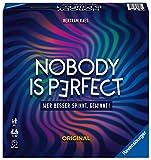 Ravensburger Familienspiel Nobody is perfect, Gesellschaftsspiel für Jugendliche und Erwachsene,...