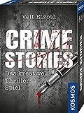 KOSMOS 695224 Veit Etzold - Crime Stories, Das kreative Thriller-Spiel, Krimi Kartenspiel, spannende...