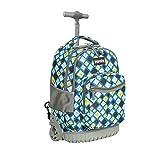 Schulranzen mit Rollen für Mädchen Jungen Kinder,ZOVOTA Schultrolley Schultaschen Schulrucksack...