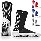 LUX rutschfeste Fußball Socken, rutschfeste Sport Socken, Gummi-Pads, trusox/tocksox Style, Top...
