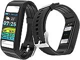 CHENGL Fitness Tracker Smartwatch, bestätigen Sie die EKG-Anzeige PPG + Erkennung von Körperfett...
