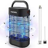 FOCHEA Insektenvernichter, Elektrisch Ultravioletter LED Insektenlampe Indoor Mückenfalle...