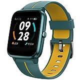 UMIDIGI Smartwatch Uwatch3 GPS, Fitnessuhr mit integriertem GPS, 1.3 Zoll Touch-Farbdisplay, 5 ATM...