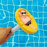 Thrivinger Schwimmbadthermometer Genaue Temperaturwerte, leicht zu pflegende Sauberkeit und Hygiene...