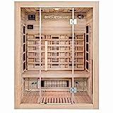 Home Deluxe  Infrarotkabine  Sahara L  Vollspektrumstrahler  Holz: Hemlocktanne - Mae: 150 x 120 x...
