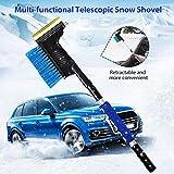 Set Anti-Beschlag-Spray + Schneebrste Aluminiumlegierung Eisschaufel Teleskop Abtauwerkzeug...