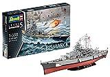 Revell 05040 Bismarck, das größte und modernste Schlachtschiff Seiner Zeit 14 originalgetreuer...