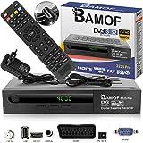 Bamof 2225 PRO Sat Receiver Digitaler Satelliten Receiver- (HDTV, DVB-S /DVB-S2, HDMI, SCART , 2X...
