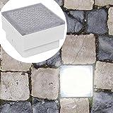 Nyyi 2 x LED Boden-Einbauleuchte 100 x 100 x 68 mm