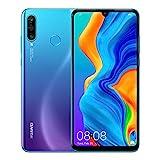 Huawei P30 Lite New Edition 256GB Handy, blau/violett, Peacock Blue, Android 9.0