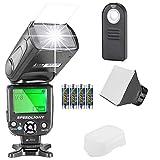 Neewer NW561 Flashblitz Blitzgerät Set für Canon Nikon Olympus Fujifilm DSLR Kamera.Enthält:...