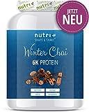 Proteinpulver WINTER CHAI 1kg - Proteinpulver Blend - hochdosiertes Eiweißpulver Special - Shape &...
