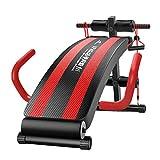HHOO - Fitness THS@ Trainingsbank - Bauchtrainer GeräT Verstellbare GroßE Armlehnen und...